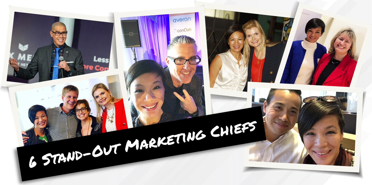 6 Stand-Out Marketing Chiefs