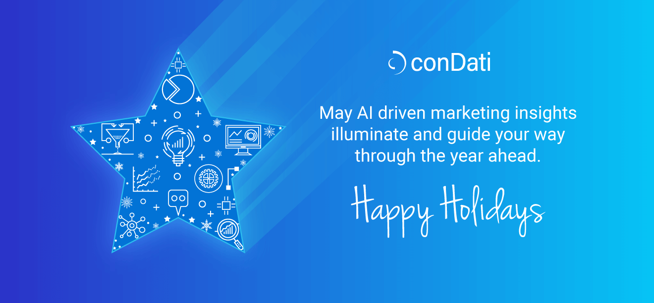 Happy Holidays from conDati CEO, Ken Gardner